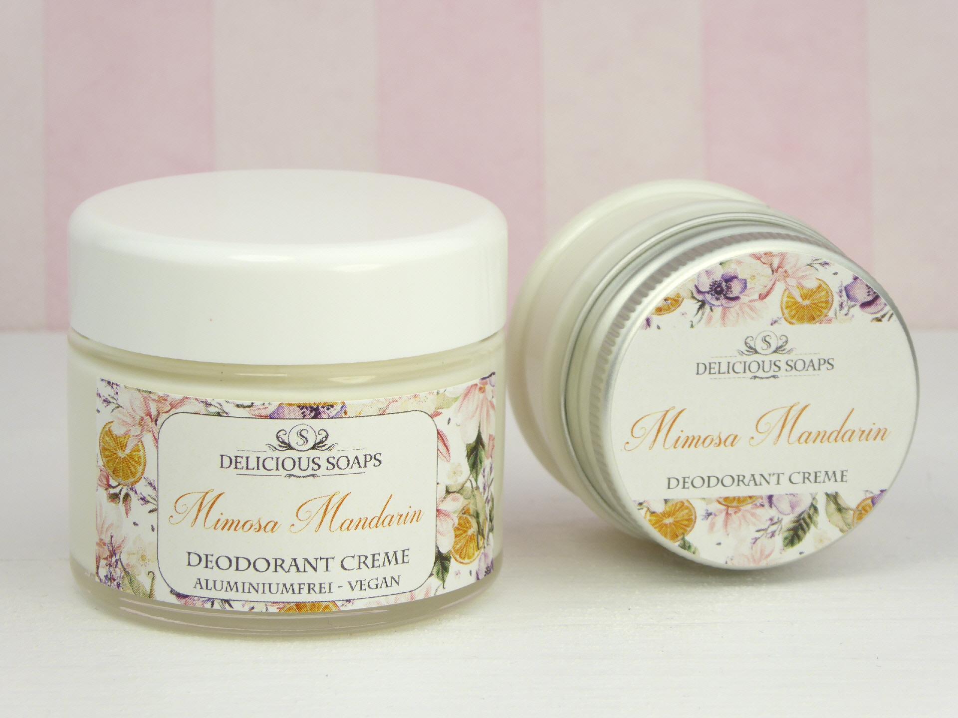Deo Creme Mimosa Mandarin - ohne Aluminium / Delicious Soaps ...
