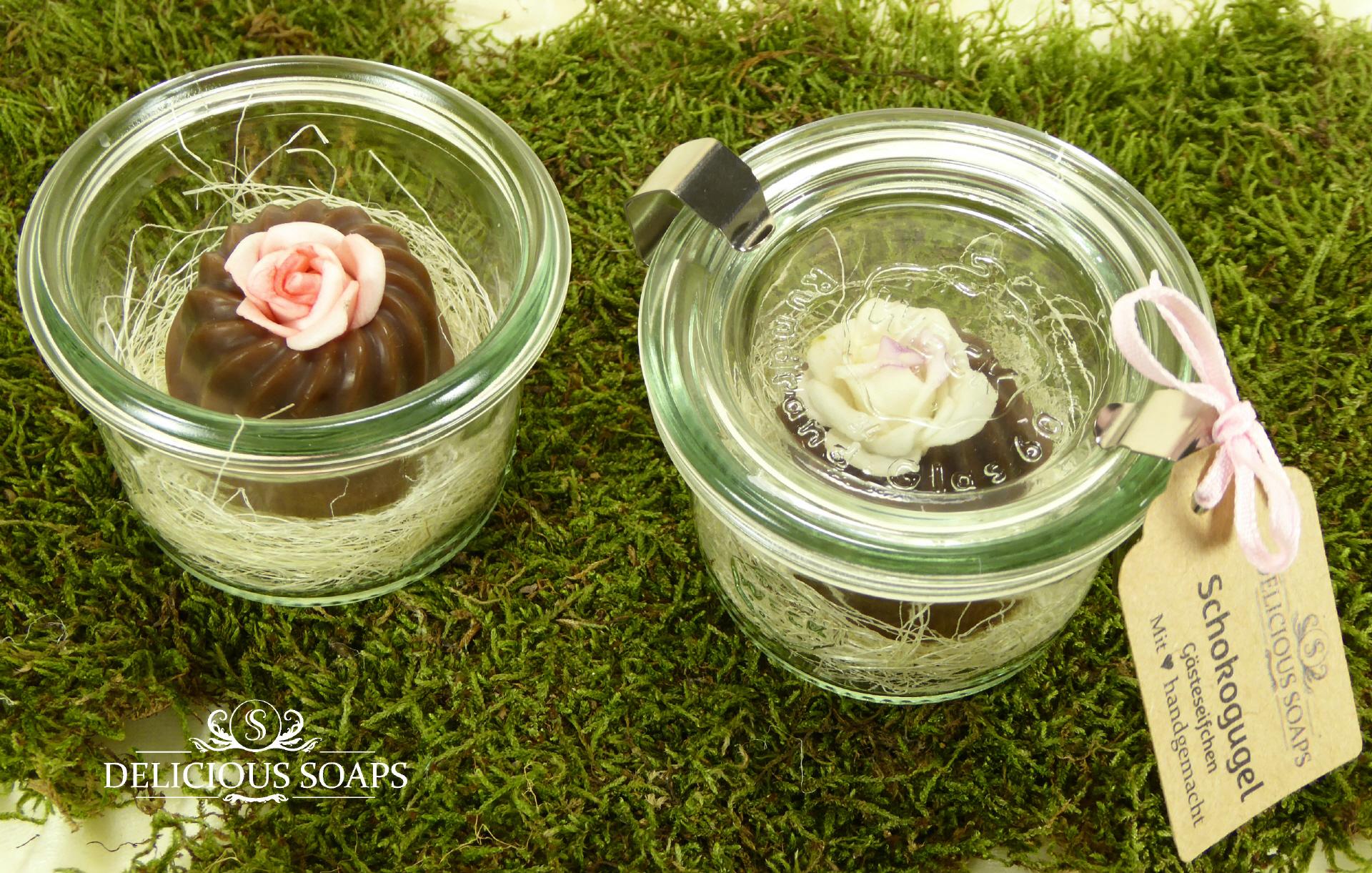 Gugelhupf Gästeseife im Weck-Glas - Delicious Soaps Weihnachtsseifen